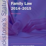 Blackstone's Statutes on Family Law 2014-2015 (Blackstone's Statute Series)